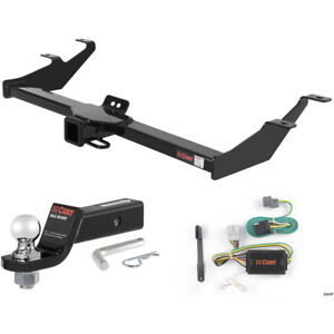 Curt Class 3 Trailer Hitch Tow Package With 2 Ball For 2007 2011 Honda Element