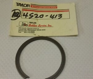 Taylor Forklift 4520 413 Snap Ring New