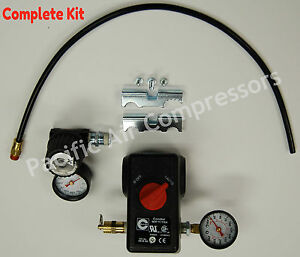 Pressure Switch Kit Sears Compressor 100 Psi On 125 Psi Off 4 Port W on off