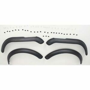 New Set Of 4 Front Rear Plastic Fender Flares For Jeep Cj5 1959 1959
