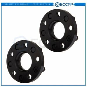 2x 20mm 5x4 75 5x120 65 5x120 7 Hubcentric Wheel Spacers For Chevrolet Corvette