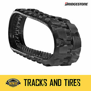 Bobcat T190h Single 13 Bridgestone Extreme Duty Block Pattern Ctl Rubber Track
