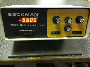 Beckman Model 4500 Digital Ph Meter Used