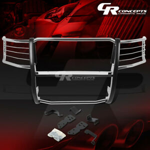 Chrome Stainless Bumper Grille grill Guard For 07 13 Chevy Silverado 1500 Gmt900