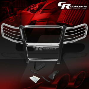 Chrome Stainless Front Bumper Grille Grill Guard Kit For 03 11 Honda Element 4dr