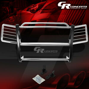 Chrome Stainless Front Grille grill Guard cladding Kit For 02 06 Chevy Avalanche