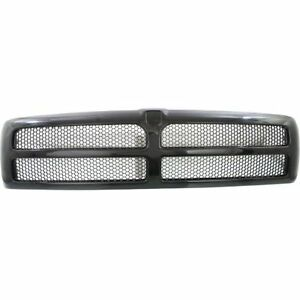 New Ch1200188 Textured Black Honeycomb Grille For Dodge Ram 1500 2500 1994 1998