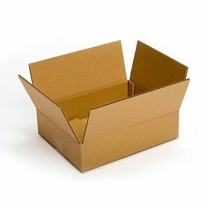 Small Cardboard Boxes 25 Pack 12x8x6 Packing Shipping Mailing Delivery Supply