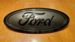 2015 20 Ford F150 Platinum Tailgate Emblem Custom Gloss Magnetic Black 5