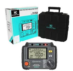 Kewtech Kyoritsu 5kv High Voltage Insulation Tester 250 5000v Kew3125a