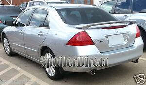 2006 2007 Honda Accord 4dr Factory Style Spoiler Rear Wing Primer
