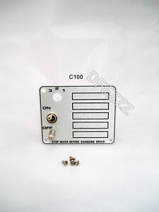 Hobart Mixer Switch On Off Part For Model C100 10 Qt 00 291735 Safety Stud