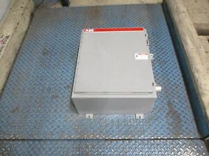 Abb Enclosed Contactor Eh210c1 1m 192a 600v 3ph 120v Coil Used