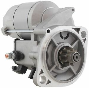 New Gear Reduction Starter For Massey Ferguson Tractors 6281 100 002 1b 12v 9t