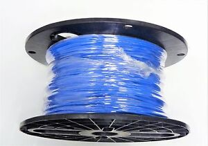 16 Gauge Wire Blue 400 Spool Primary Awg Stranded Copper Power Ground Mtw Vw 1