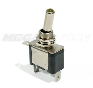 Heavy Duty 20a Toggle Switch Spst On off W amber Led Car truck boat Usa Seller