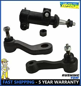 For Chevy Silverado Gmc Sierra Suburban H2 Yukon 3pc Steering Pitman