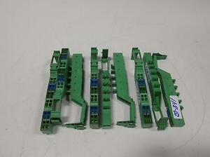 Phoenix Contact Terminal Block Lot Of 9