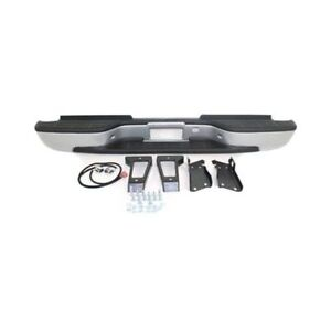 New Rear Bumper For Chevrolet Silverado 2500 Hd Gm1103141 2001 To 2006