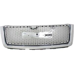 New Grille For Gmc Sierra 1500 Gm1200631 2007 To 2012