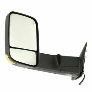 New Ch1320315 Driver Side Amber Led Signal Door Mirror For Dodge Ram 2009 2012