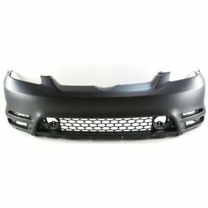 New Bumper Cover front For Toyota Matrix To1000237 2003 To 2004