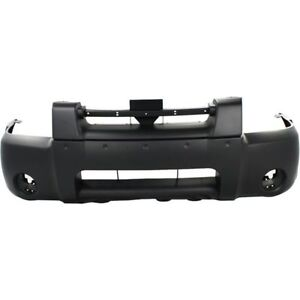 New Ni1000185 Front Bumper Cover For Nissan Frontier 2001 2004