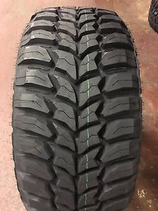 4 New Lt 33 12 50 20 Crosswind Mt 10 Ply Tires 1250r20 33x12 50r20 Mud 33125020