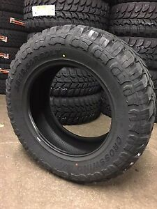 4 New 35 12 50 20 Crosswind Road One Mt 10 Ply 1250r20 35x12 50r20 Tires Mud