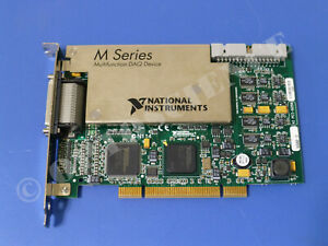 National Instruments Pci 6259 Ni Daq Card 32 Ch Analog Input Multifunction