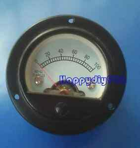 1pc So 52 100ma Vu Panel Meter For Speakers Tube Amplifiers Cd Players