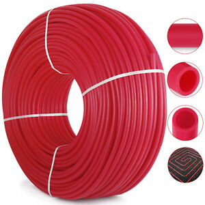 1 2 x1000ft Oxygen Barrier Pex Pipe Tubing For Heating And Plumbing Radiant Heat