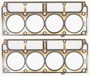 Gm Ls1 Ls6 Mls Cylinder Head Gasket Kit Pair New Gm 3 920 Bore