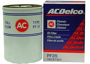 Acdelco Pf35 Oil Filter