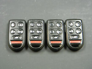 Lot Of 4 Honda Odyssey Keyless Entry Remote Fob Oucg8d 399h a G8d 399h a