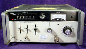 Wavetek Signal Generator Model 3002 Solid State 1 To 520mnz Rf Gpib Instrument