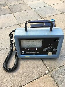 Rpi Rad Monitor Model Gm 2 Radiation Contamination Survey Meter Large Probe