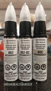 Toyota White Pearl Crystal Touch Up Paint Kit Genuine Oem 00258 00062 21