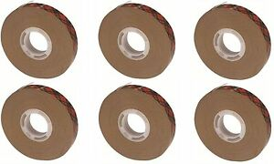 3m Scotch Atg Adhesive Transfer Tape 924 Clear 0 50 In X 36 Yd 2 0 Mil 6 Pack