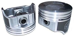 Sealed Power H582cp40 Hypereutectic Piston Set 8 1988 1993 Ford 7 5l 460 Truck