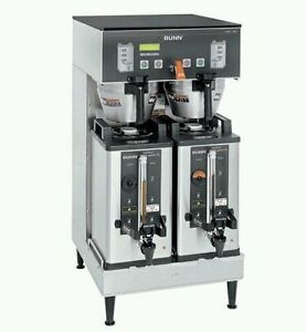 Bunn Dual Sh Dbc Commercial Coffee Brewer refurb Contact 4 Shipping