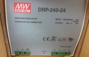 Mean Well Drp 240 24 Switching Regulator