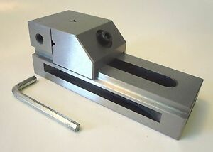 2 X 3 Precision Hardened Milling Grinding Machining Vise Mounting Slots New
