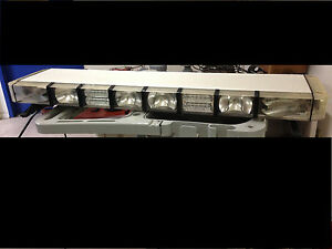 Whelen Edge Ultra 9000 Series Led Lightbar W traffic Control Amber blue red wk