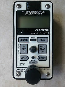 Omega Thermocouple Calibrator Cl 307 A