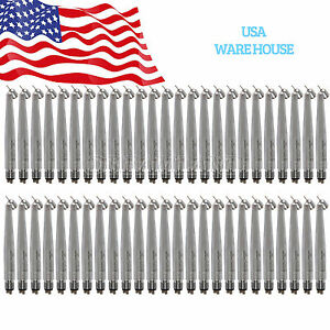 Us Yabang 50x Dental Surgical 45 Degree High Speed Handpiece Push Fit Nsk 4hole