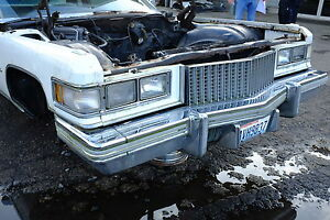 1973 76 Cadillac Deville Spindle Good Used Original Right
