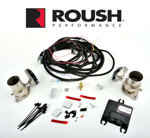 2015 2020 Mustang Roush Customizable Active Exhaust Upgrade Kit 421926