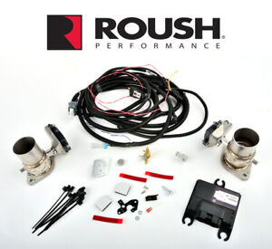 2015 2021 Mustang Roush Customizable Active Exhaust Upgrade Kit 421926