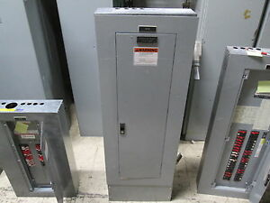 Ge Main Lug Circuit Breaker Panel W Surge Suppressor Aqu3422mbx 225a Max Used